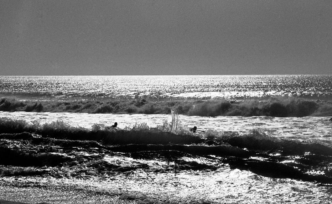 Surfers Going Out, The Pines, Fire Island, 2017