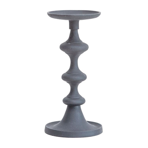Black Aluminum Candle Holder