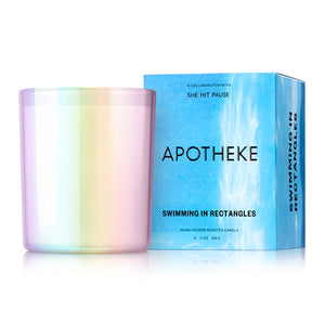 "Apotheke x She Hit Pause ""Swimming in Rectangles"" Candle"