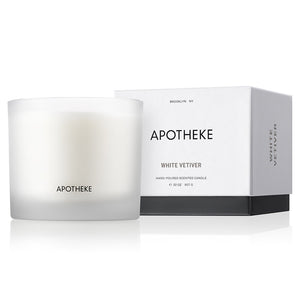 Apotheke White Vetiver 3-Wick Candle