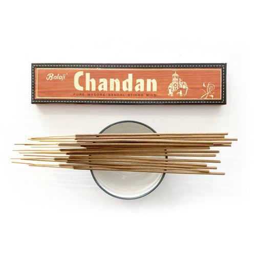 Chandan Pure Mysore Sandal Mild Incense, 5 boxes