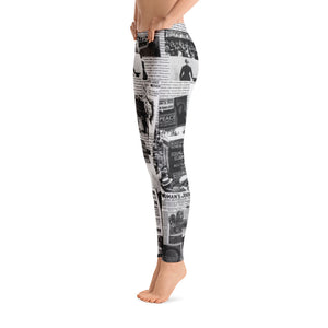 """Clippings... 100 Years"" Leggings"
