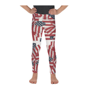 """4th of July"" Leggings (2T-Girl's 7)"