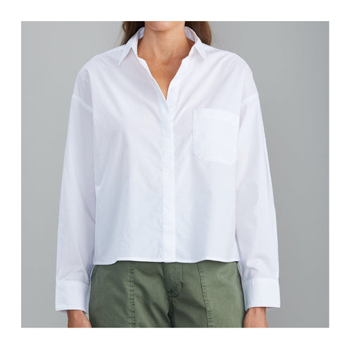 Daily Shirt Crisp White Button Up