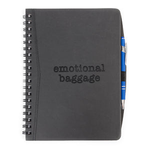 """Emotional Baggage"" Journal Notebook"