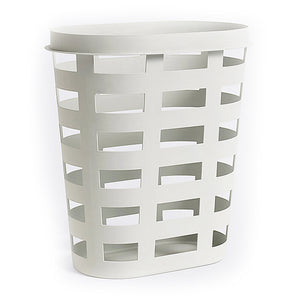 Large Laundry Basket, Light Grey