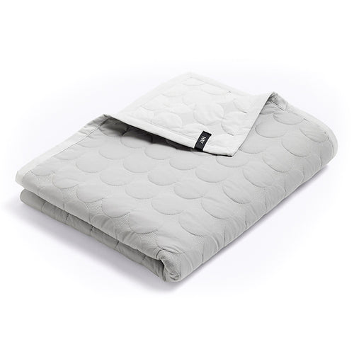 Mega Dot Blanket, Light Grey