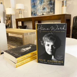 NEW! 'Home Work' by Julie Andrews