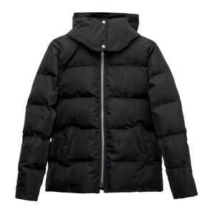 LINZ Vegan Puffer Jacket, Black