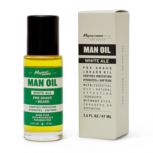 Mayron's Goods Man Oil, White Ale