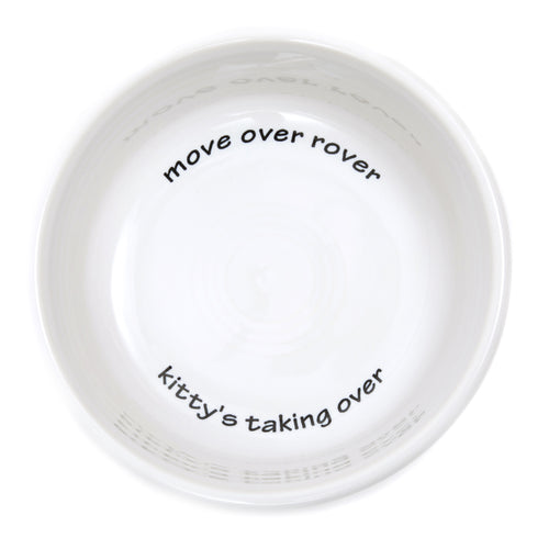 Modern General® Fiestaware 'Move Over Rover' Cat Bowl
