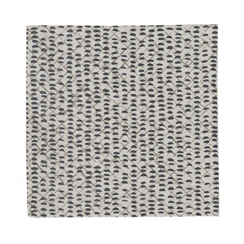 Cloth Dinner Napkin, Criss Cross Slate