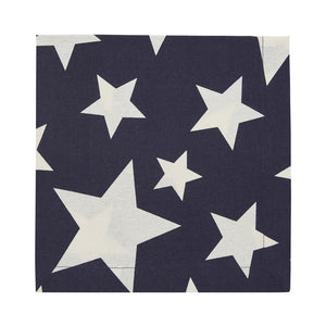 Cloth Dinner Napkin, Indigo Star