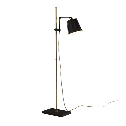 Watson Floor Lamp with Marble Base