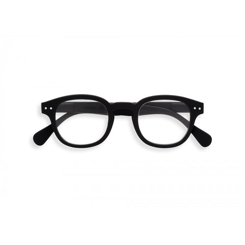 IZIPIZI Paris Reading Glasses, Black #C