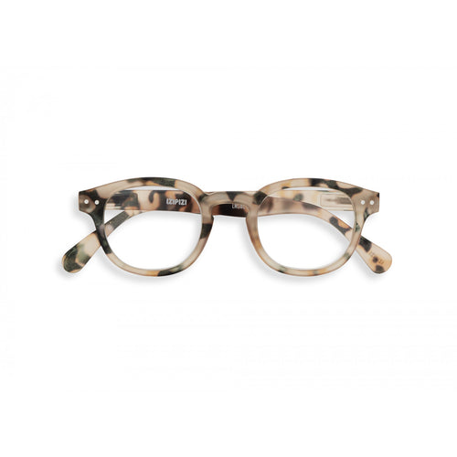 IZIPIZI Paris Reading Glasses, Light Tortoise #C