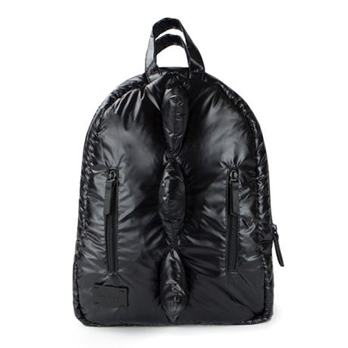 Black Puffer Mini Dino Backpack