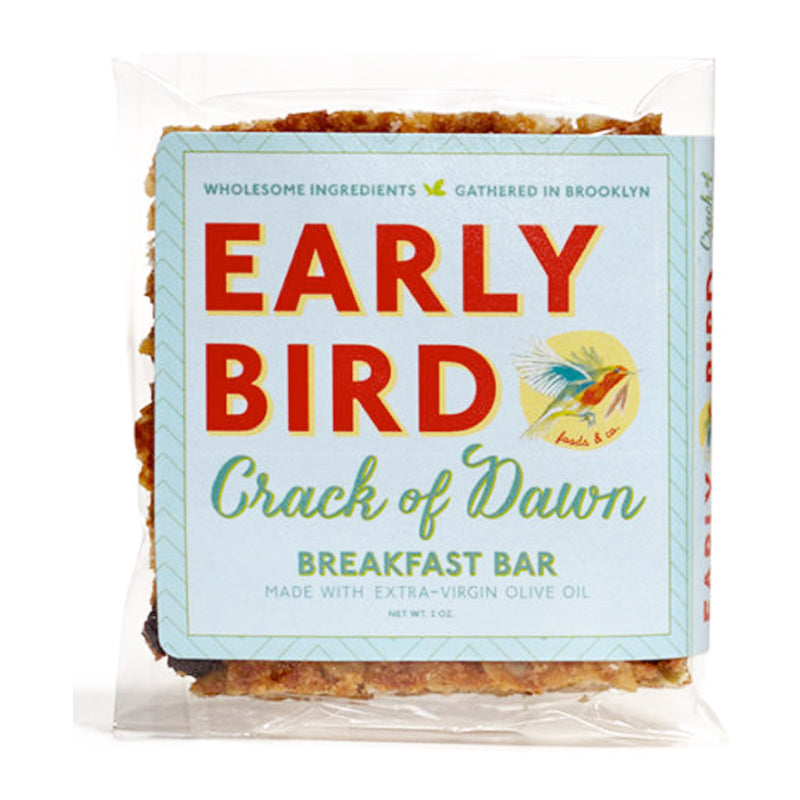 Early Bird 'Crack of Dawn' Breakfast Bar (2 Bars)