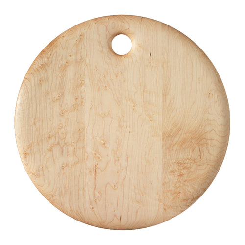 Bird's-Eye Maple Round Cutting Board