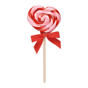 Hammond's Candies Wild Cherry Heart Lollipop
