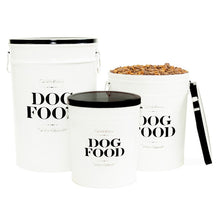 'DOG FOOD' Storage Containers