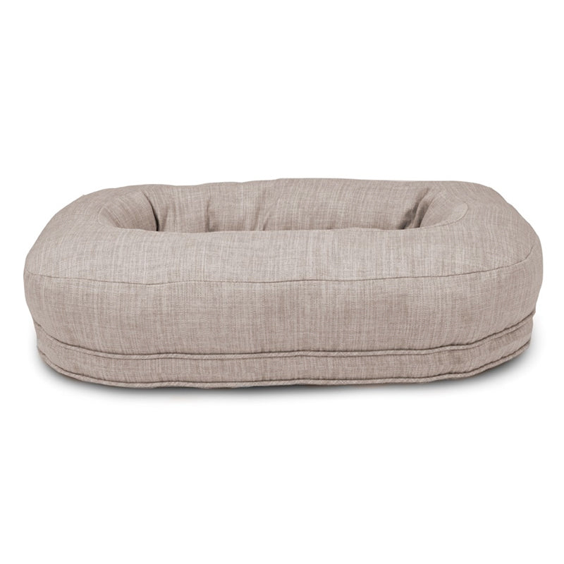 Martello Orthopedic Dog Bed, Light Grey