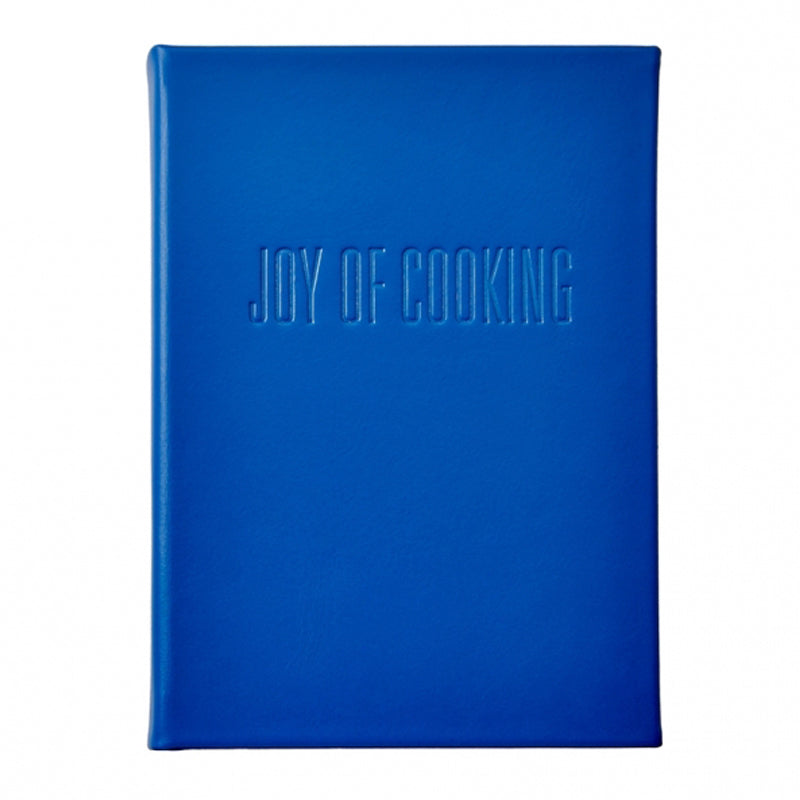 'Joy of Cooking' Vachetta Leather Bound