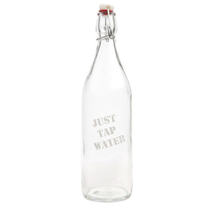 """Just Tap Water"" Bottle"