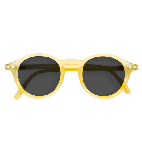 Kid's Sunglasses, Yellow Chrome