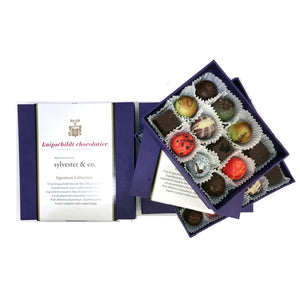 Sylvester & Co. Signature Chocolate Collection 12pc. or 25pc.