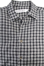On Main Street Boyfriend Shirt, Limited Edition Flannel/Metal Buttons