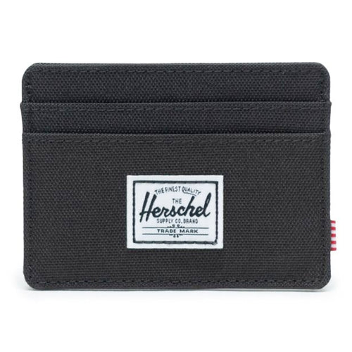 Herschel Supply Co. Charlie Wallet, Black