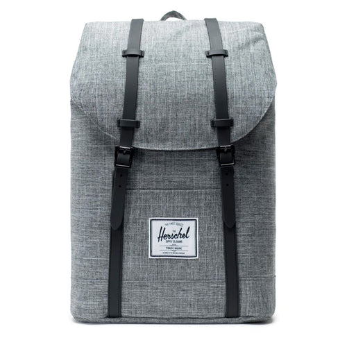 Herschel Supply Co. Retreat Backpack, Raven Crosshatch