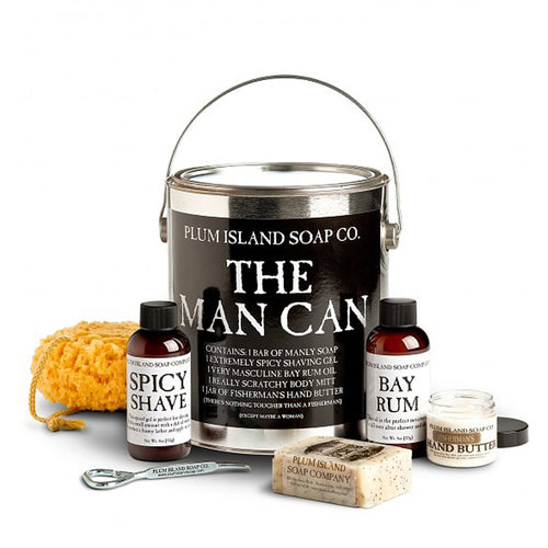 Plum Island Soap Co. 'The Man Can'