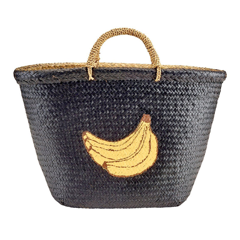 Women's Seagrass Banana Beach Tote