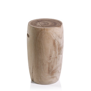 Tambor Acacia Wood Stool (Short)
