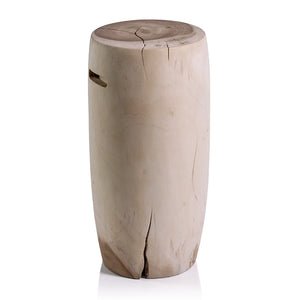 Tambor Acacia Wood Stool (Tall)