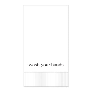 Modern General® 'Wash Your Hands' Towels 20 ct.