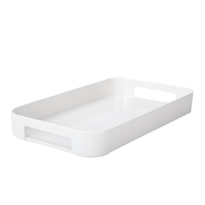 White Rectangular Serving Tray