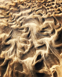 """Mysterious Dance of Wind, Sand and Water"" 