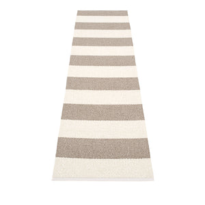 Bridgehampton Plastic Floor Mats Mud/Vanilla (Multiple Sizes)