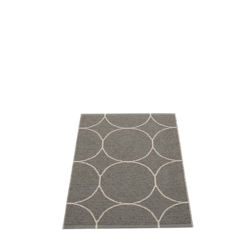 Mecox Plastic Floor Mats Charcoal/Linen (Multiple Sizes)