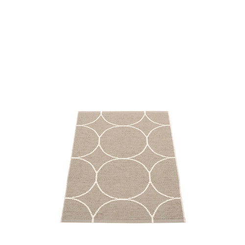 Mecox Plastic Floor Mats Dark Linen/Vanilla (Multiple Sizes)
