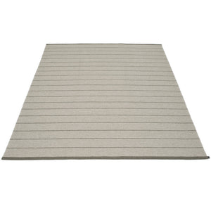 Sag Harbor Plastic Floor Mats Warm Grey/Charcoal (Multiple Sizes)