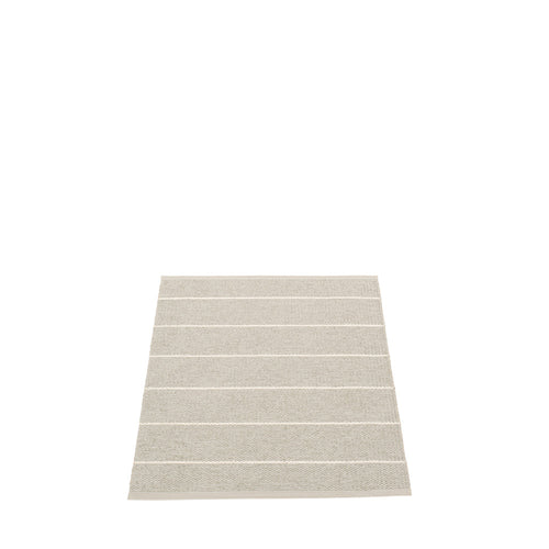Sag Harbor Plastic Floor Mats Linen/Vanilla (Multiple Sizes)