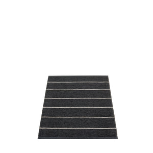 Sag Harbor Plastic Floor Mats Black/Vanilla (Multiple Sizes)