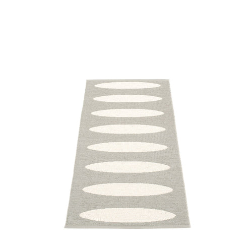 Lazy Beach Plastic Floor Mats Warm Grey/Vanilla (Multiple Sizes)