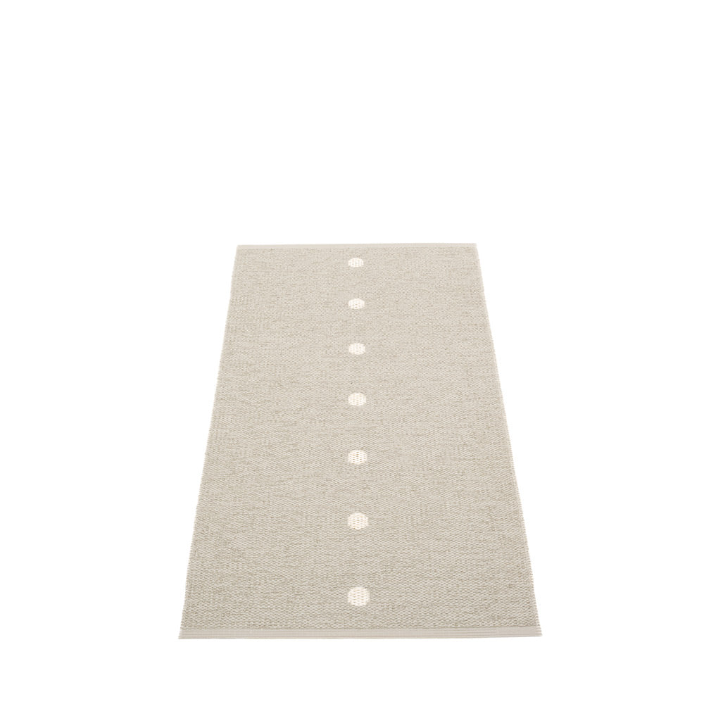 Ferry Road Plastic Floor Mats Linen/Vanilla (Multiple Sizes)