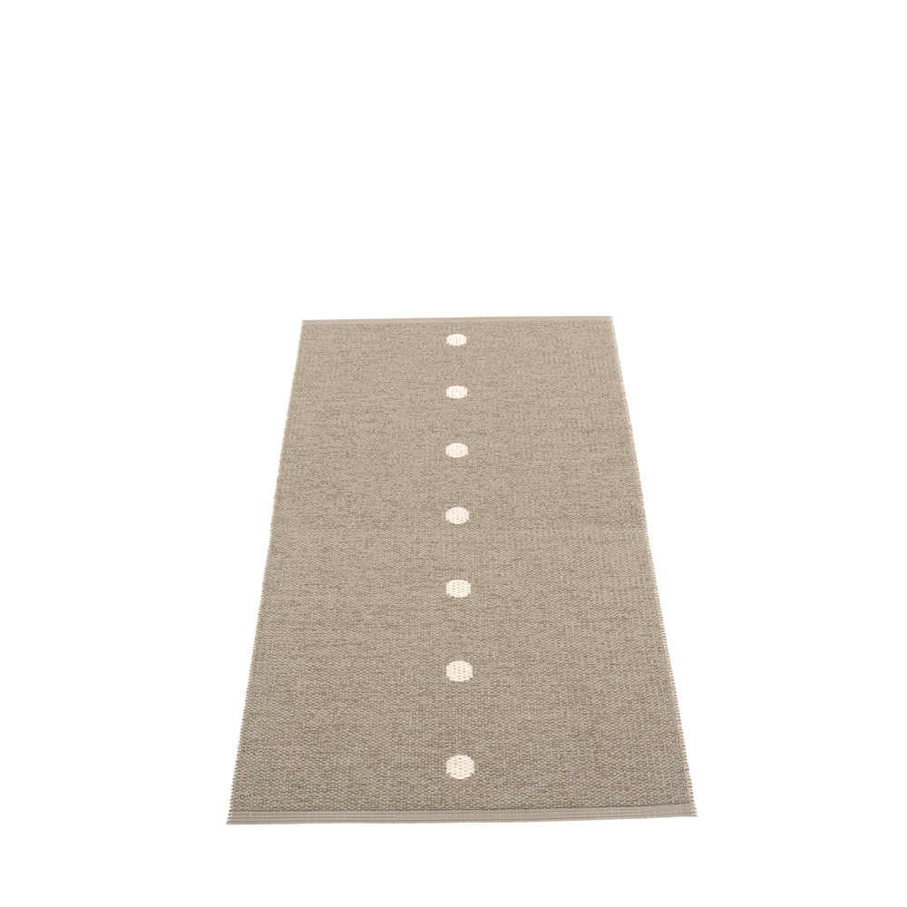 Ferry Road Plastic Floor Mats Dark Linen/Vanilla (Multiple Sizes)