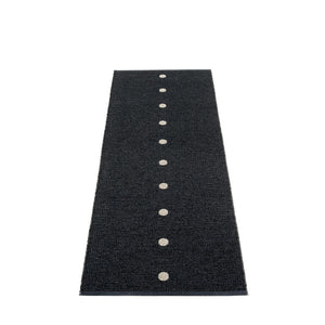 Ferry Road Plastic Floor Mats Black/Vanilla (Multiple Sizes)